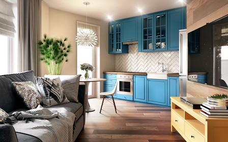 Об'єднуємо кухню і вітальню: плюси і мінуси
