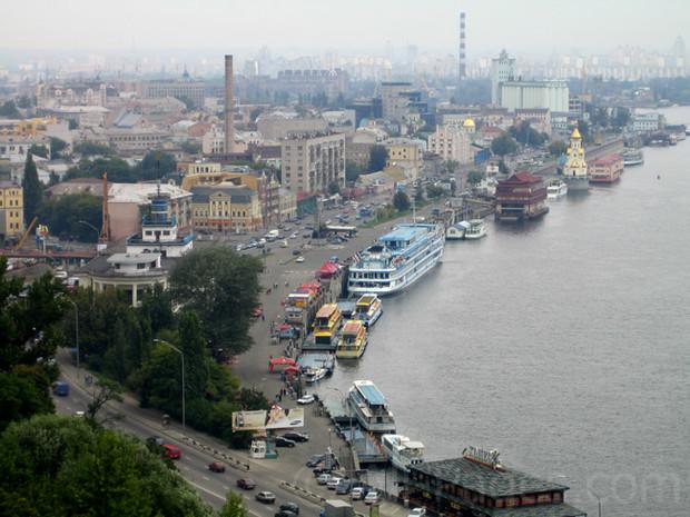 Объекты на киевской набережной появляются из-за алчности заказчиков