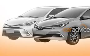 Обновленную Toyota Corolla рассекретили в Сети