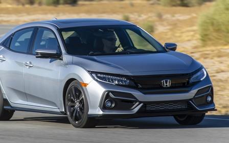 Обновленный хэтчбек Honda Civic показали американцам