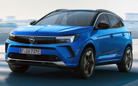 Обновленный Opel Grandland представили официально