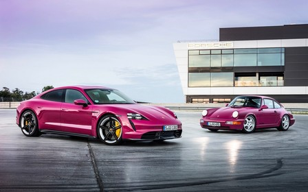 Обновленный Porsche Taycan уедет дальше