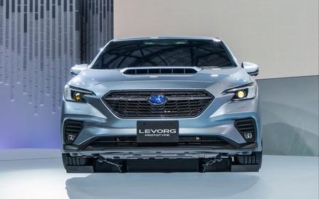 Обновленный Subaru Levorg показали с новым турбомотором