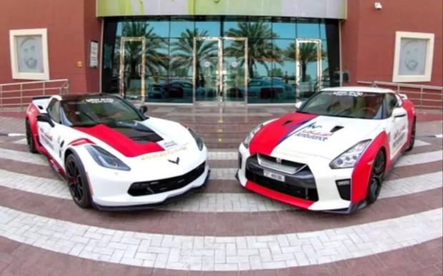 Очень скорая помощь. Медики Дубая пересели на Nissan GT-R и Chevrolet Corvette C7