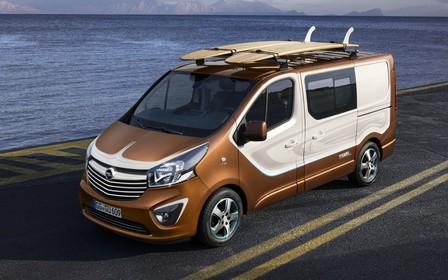 Opel показал Vivaro для серферов