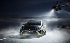 Opel представил первый серийный электрический ралли-кар. ФОТО