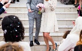 Оригинальные свадебные наряды