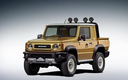 Осторожно, спецназ! Suzuki представит пикап и фургон Jimny для тяжелых условий