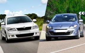 Отбросьте сомнения! Что выбрать: Skoda Octavia A5 FL или Renault Megane III?