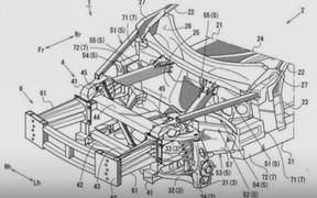 Патент намекает на возможную разработку Mazda RX-9