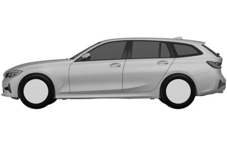 Патентные изображения BMW 3-й серии Touring просочились в сеть