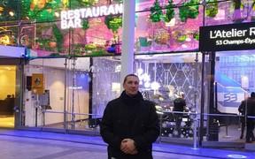 Переможець акції «Франція -на відстані одного ТО» відвідав Париж