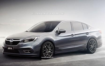 Первые фото: каким будет Subaru Legacy нового поколения?