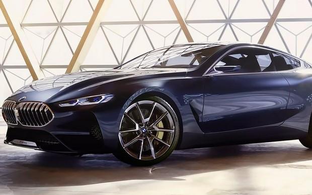 Первые фото: Новый BMW 8-Series рассекречен до премьеры