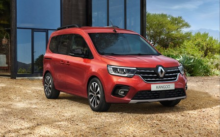 Первые фото. Новый Renault Kangoo