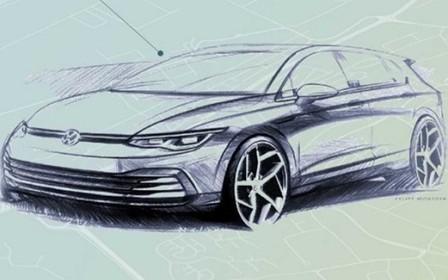 Перші офіційні зображення VW Golf VIII. Що всередині?