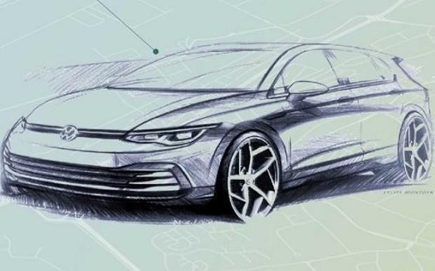 Первые официальные изображения VW Golf VIII. Что внутри?