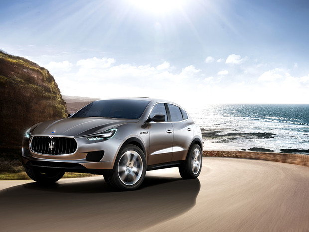 Первый кроссовер Maserati покажут в марте 2016