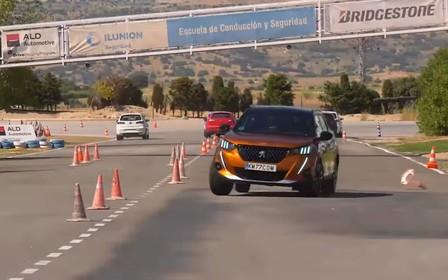 Peugeot 2008 перевірили лосем. Як все пройшло? ВІДЕО