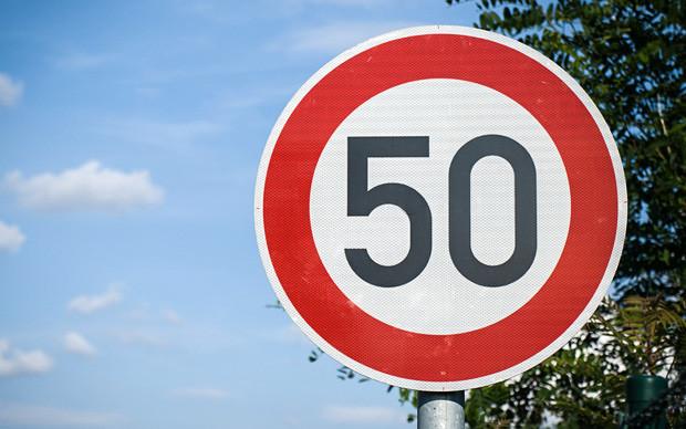 По 50! Дорожники предлагают ограничить скорость в населенных пунктах