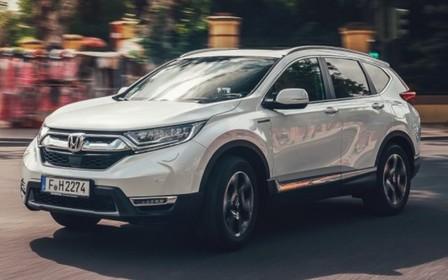 Початок продажу гібридного кросоверу Honda CR-V