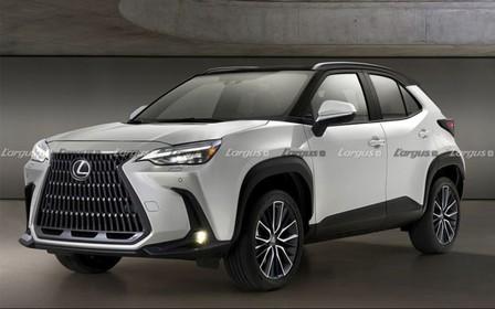 Під маскою леді. Яким стане найменший Lexus?