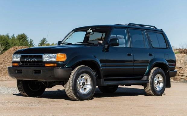 Подержанный Toyota Land Cruiser оценили в 136 000 долларов