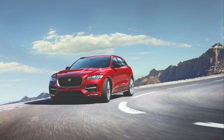 Подвійна вигода на SUV Jaguar F-Pace в Jaguar Land Rover Київ Захід