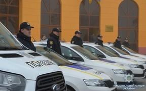 Полиция Одесской области получила новые автомобили