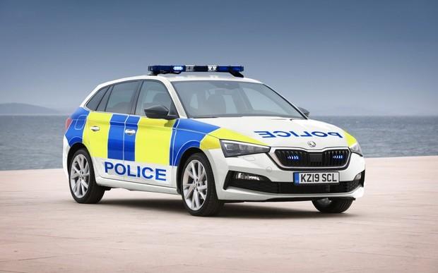 Полиция закупила партию новых хэтчбеков Skoda Scala
