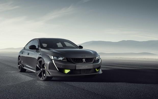 Полный привод и 4,3 секунды до «сотни». Peugeot показала спорт-концепт нового 508