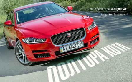 Полтора кота: Тест-драйв Jaguar XE