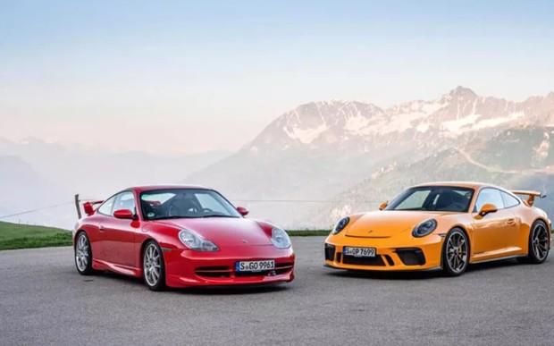 Porsche 911 GT3 святкує 20 років