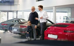 Porsche Approved. Автомобілі з пробігом.