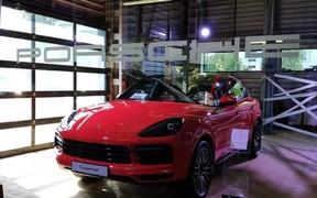 Porsche Cayenne Coupe вже в Одесі