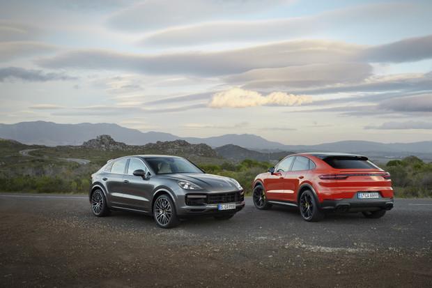 «Porsche представляє Cayenne Coupe.»