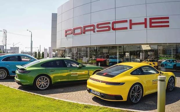 Porsche Road Tour в Харкові