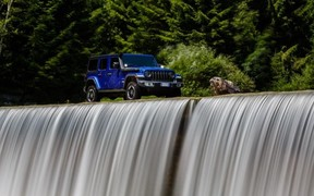 Презентация Jeep® Wrangler четвертого поколения в рамках Camp Jeep