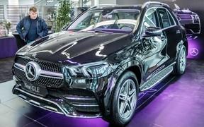 Презентация нового Mercedes-Benz GLE в Автомобильном центре Киев!
