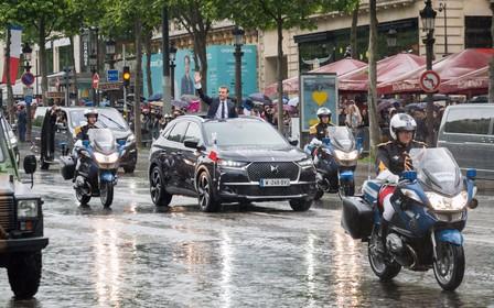 Президентские авто: Кроссовер DS 7 Crossback стал парадным экипажем Эммануэля Макрона