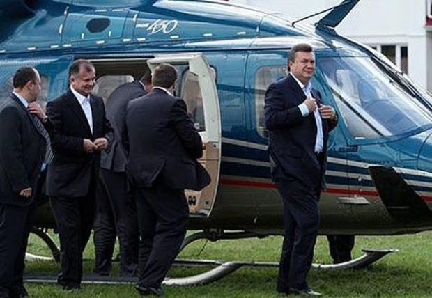 Президенту нужны еще 150 млн. грн. на вертолеты и дачи