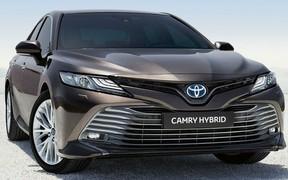 Приймаємо попередні замовлення на Toyota Camry Hybrid