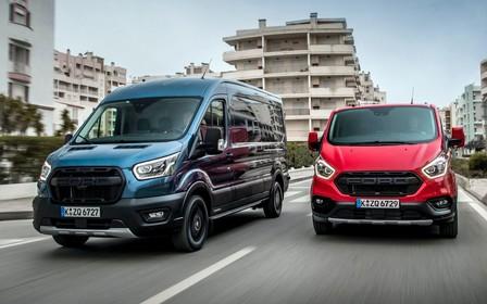 Прикинулися «Раптором»? Ford Transit і Tourneo стануть вседорожніми