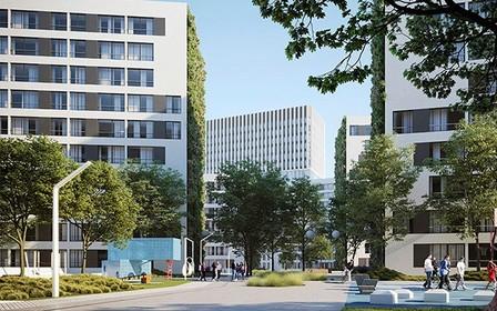 Продажа квартир в третьем доме ЖК «Greenville Park Lviv» начато