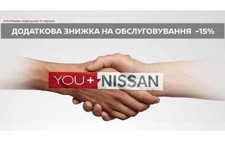 Програма лояльності на обслуговування Nissan