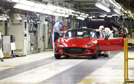 Производство нового Mazda MX-5 стартовало