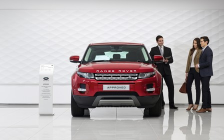 Пропозиція на авто з пробігом Jaguar Land Rover Approved
