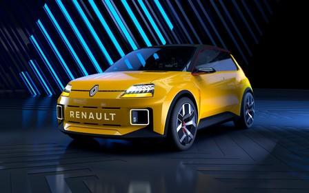 Прототип Renault 5, подмигивающий фарами