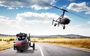 Прыжок в будущее: первый летающий автомобиль покажут в Женеве