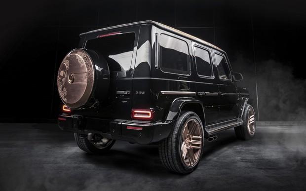 Пятница, 13-е. Жутко классный Mercedes-AMG G63 Steampunk Edition